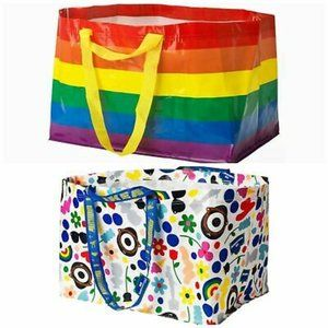 1 IKEA FORNYAD Darcel & 1 KVANTING Bags